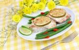 White Wine and Lemon Mahi Mahi
