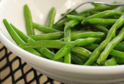 Orange Spiked Green Beans